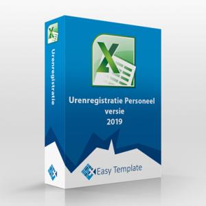 Excel Urenregistratie Personeel 2019