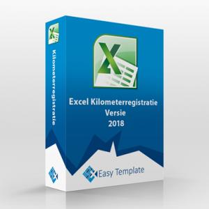Excel kilometerregistratie 2018