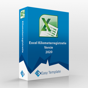 Kilometerregistratie 2020 in Excel