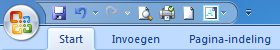 Tab start in Excel