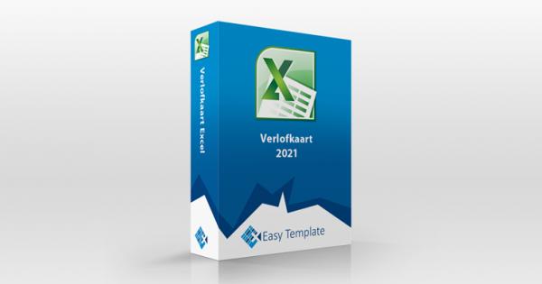 Verlofkaart Excel 2021