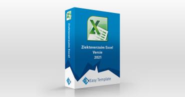 Productbox Excel Ziekteverzuim 2021