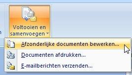 Afzonderlijke documenten bewerken