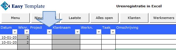 Knop filters in Excel